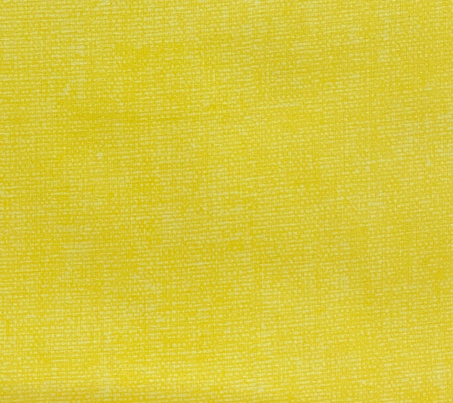 Yellow Burlap Look Fabric