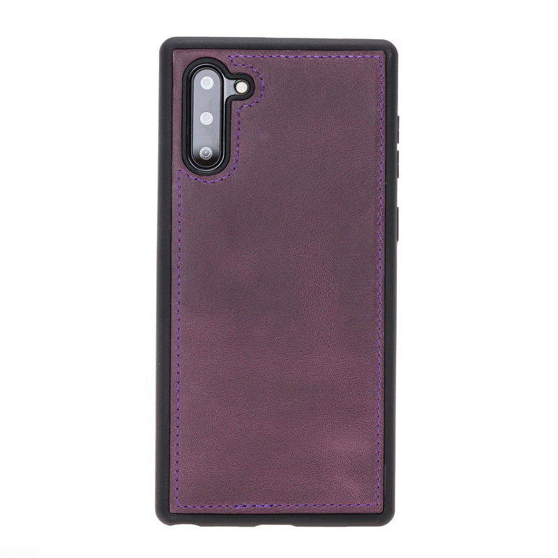 Magnetic Detachable Folio Flip Wallet Cover Case with Card Holders and Kickstand for Samsung Galaxy Note 10