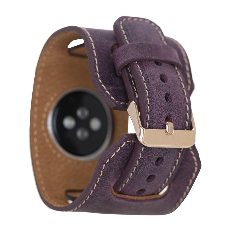 Cuff Leather Band for Apple Watch 38 mm / 40 mm
