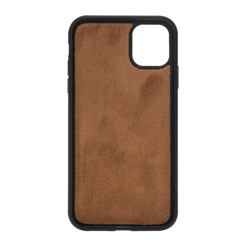 Dual Fold Magnetic Detachable Leather Wallet Case for Apple iPhone 11