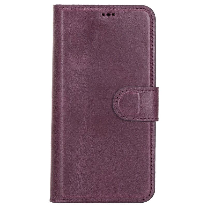 Magnetic Detachable Leather Wallet Case for iPhone 12 Pro