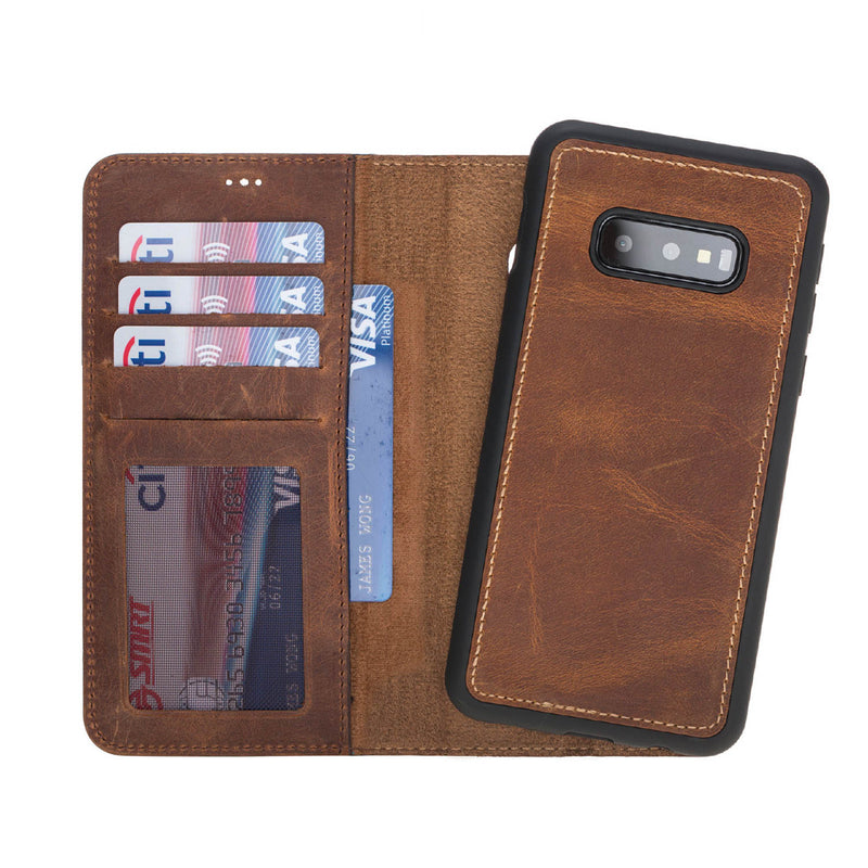 Magnetic Detachable ID Wallet Case for Samsung Galaxy S10e