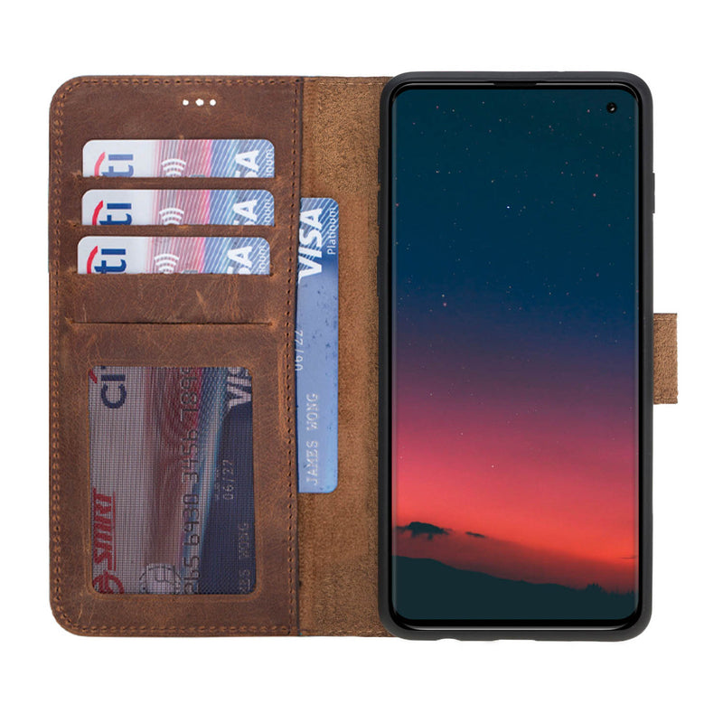 Magnetic Detachable ID Wallet Case for Samsung Galaxy S10