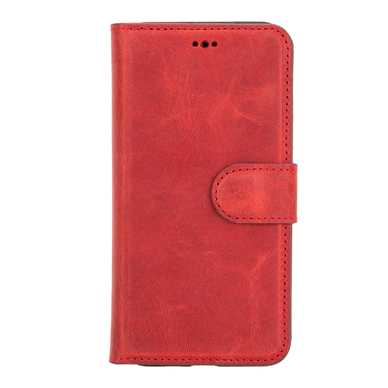 Magnetic Detachable Flip Wallet Case with Card Holders and Kickstand ( and ID Window ) for Apple iPhone 11 Pro ( 5.8 inch )