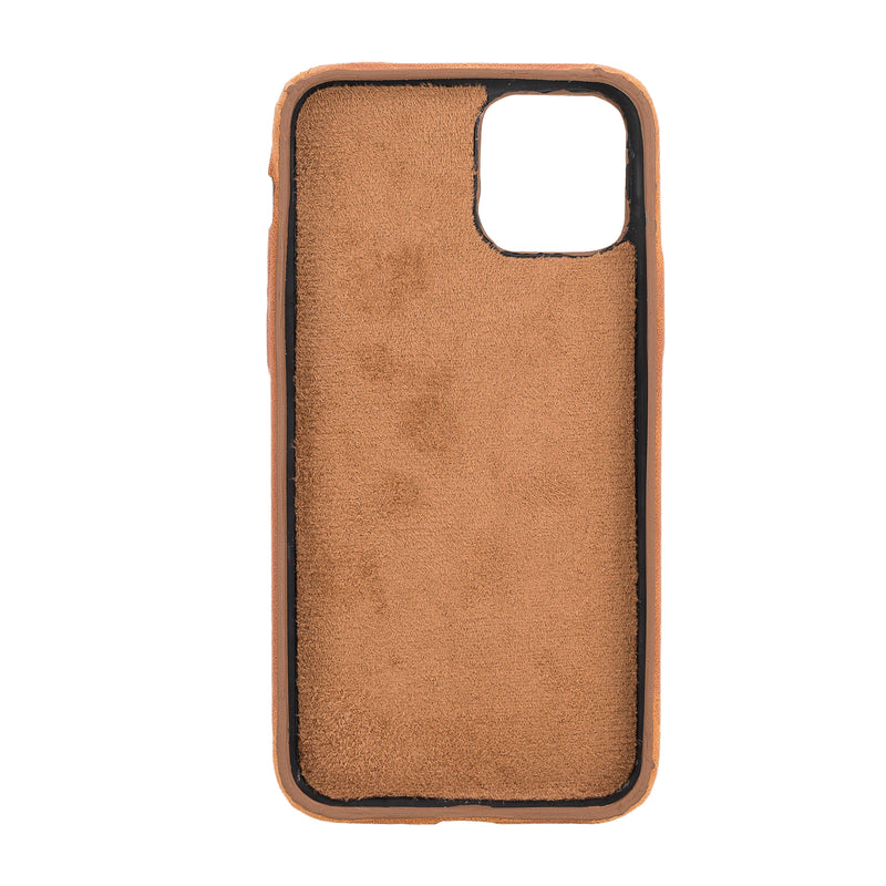 Full Cover Leather Case with Credit Card Slots for Apple iPhone 11 Pro ( 5.8 inch )