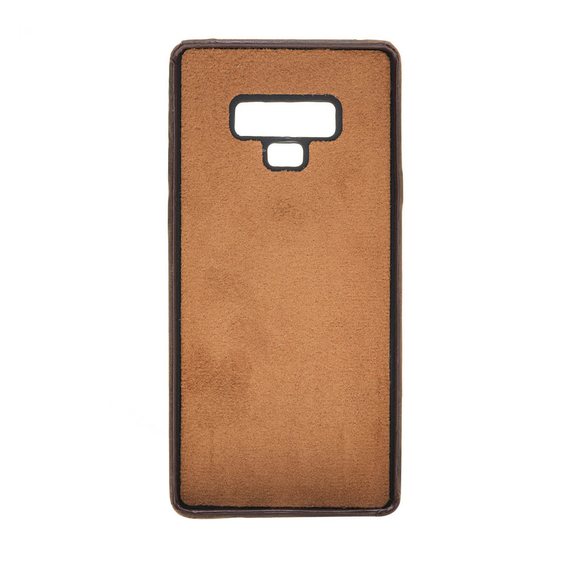 Leather Snap-on Full Cover Case with Credit Card Slots for Samsung Galaxy Note 9