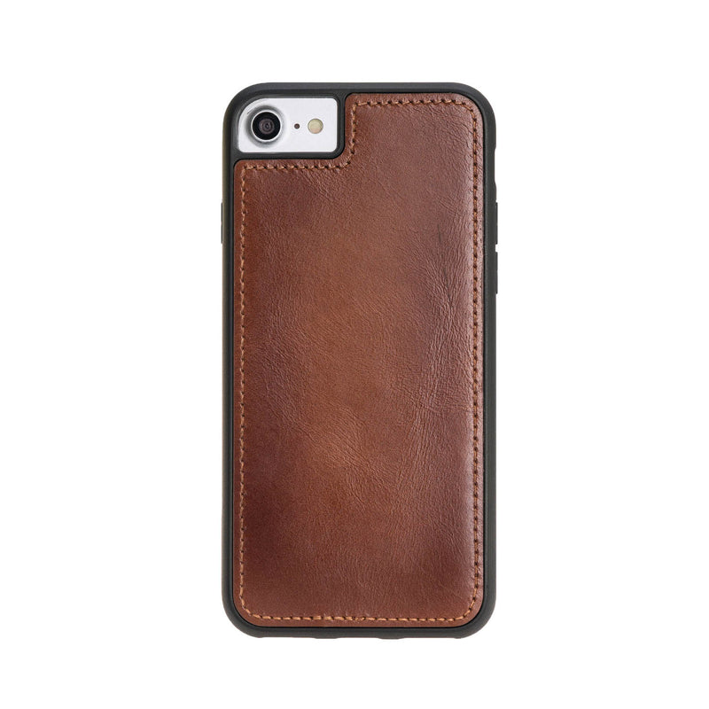 Dual Fold Magnetic Detachable Leather Wallet Case for Apple iPhone 8 / iPhone 7