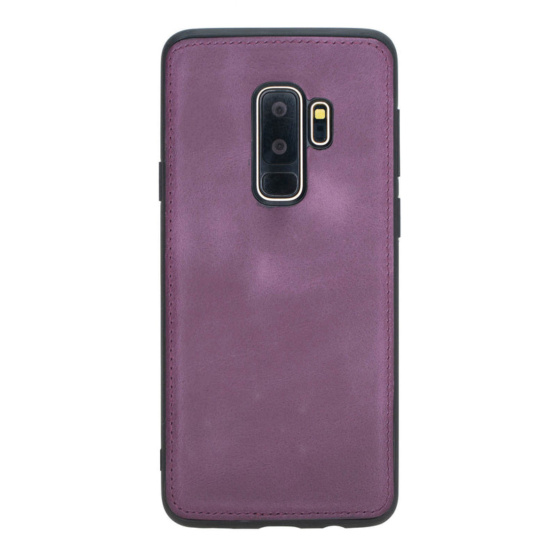 Leather Magnetic Detachable ID Wallet Case for Samsung Galaxy S9 Plus