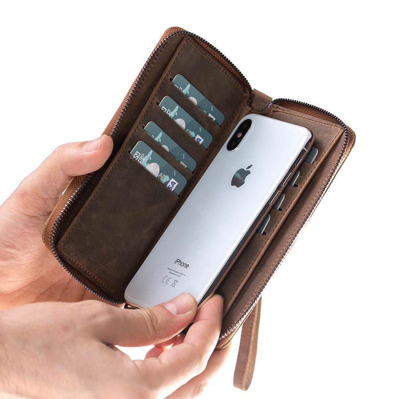 Leather Pouch Wallet Case for Apple iPhone 11 Pro