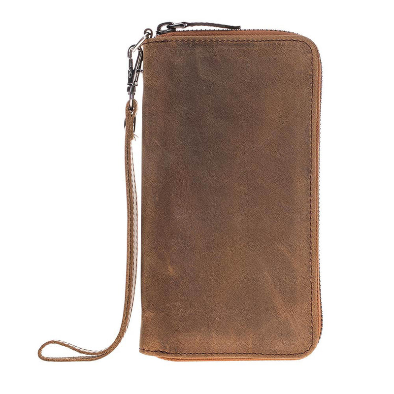 Pouch Wallet Leather Case for iPhone X / XS