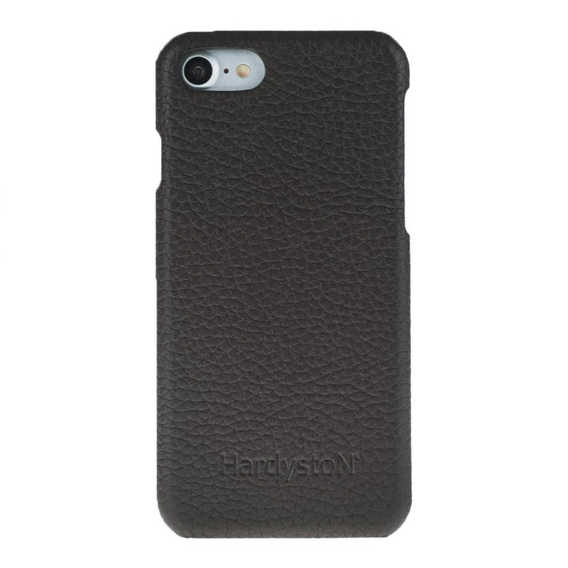 Snap-on Leather Case for Apple iPhone 8 / iPhone 7