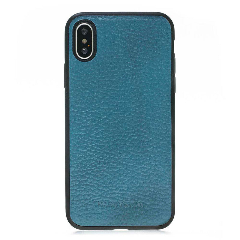Snap-on Flex Leather Case for Apple iPhone X / XS