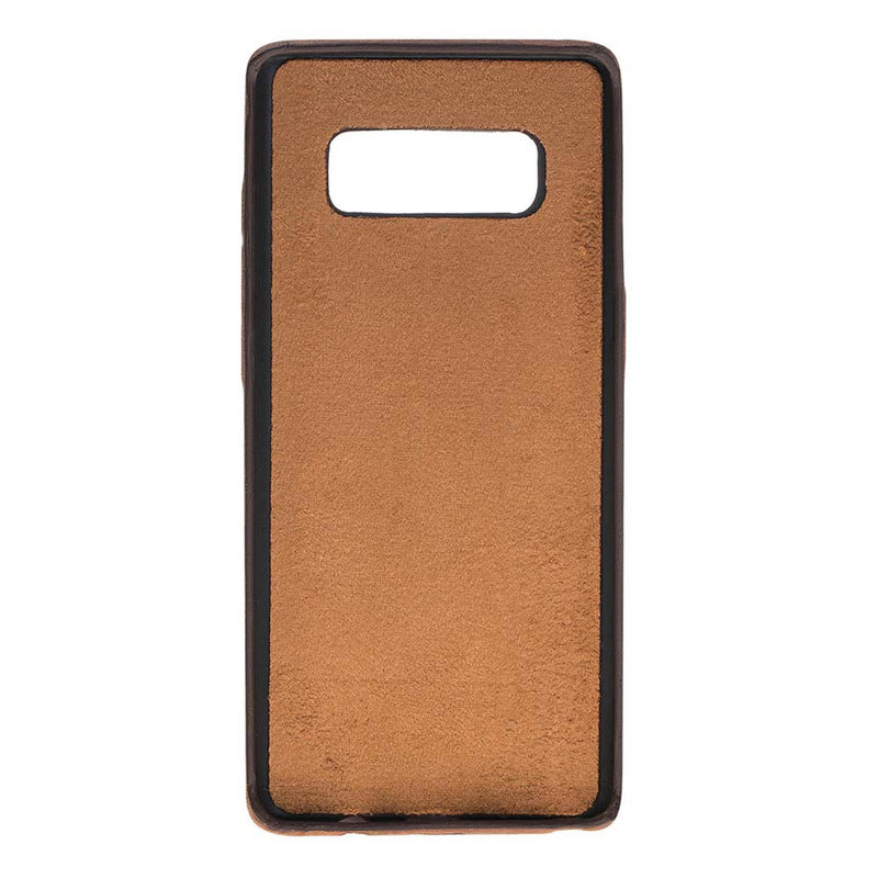Snap-on Full Cover Leather Case with Credit Card Slots for Samsung Note 26