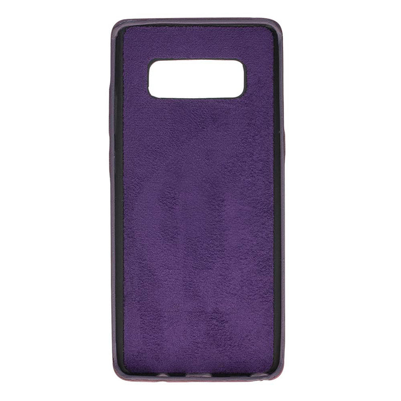 Snap-on Full Cover Leather Case with Credit Card Slots for Samsung Note 34