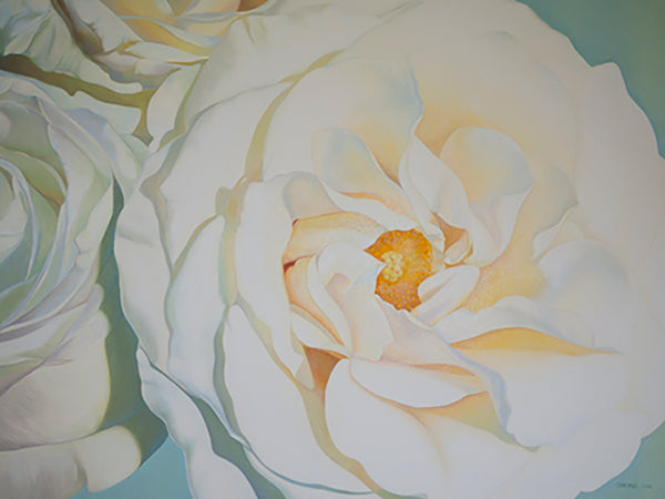 Illuminance White Roses - Canvas Print, [product-type], Carling Wong-Renger, carlingwongrenger.com