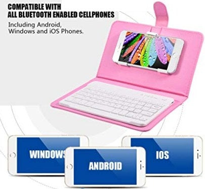 Bluetooth Keyboard And Phone Case For Smartphone Carousales