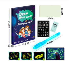 3D Luminous Drawing Board Toddler Toys
