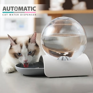 Automatic Cat Water Fountain Dispenser