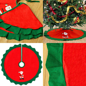 Christmas Tree Collar Skirt Decoration