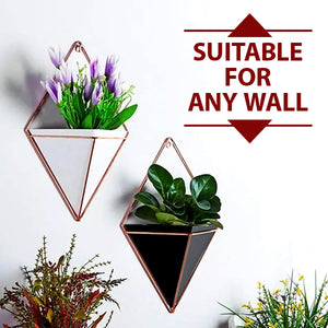 Geometric Wall Planters Decor