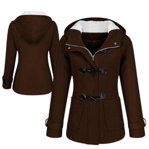 Plus-Size Women's Winter Coat Parka