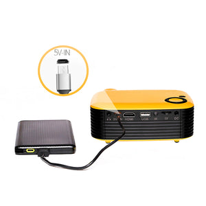 Portable Home Theater Mini Projector