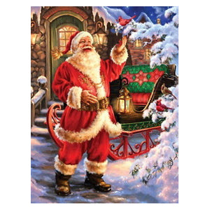 Santa Claus Diamond Art Painting Set