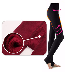 Women's Winter Fleece-Lined Leggings