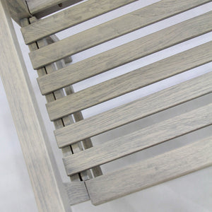 Get this Rocca Weathered Teak Wood Outdoor Bench as it will be a perfect addition to your existing outdoor styling. Buy the whole collection & patio furniture from Cambridge Casual!