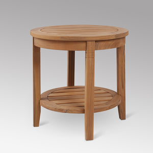 Add some pool-side flair to your garden or patio with this Richmond side table. It's versatile and durable, available from Cambridge Casual.
