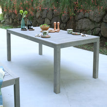 Carlota Solid Wood 3 Piece Weathered Gray Outdoor Dining Set is a perfect pieces to accompany an intimate gathering on patio or deck. Purchase it from Cambridge Casual Patio Furniture today.