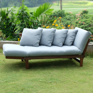 Get this Carlota Solid Wood Outdoor Convertible Sofa Day Bed. Available in new option of natural brown frame. Enjoy the free shipping deal from Cambridge Casual!