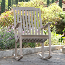 Purchase this gorgeous Richmond Weathered Teak Wood Outdoor Rocking Chair from the Richmond collection is available now at Cambridge Casual patio furniture. Discover more here!