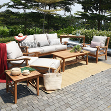 Find out more about the Abbington range of teak outdoor furniture, available now from Cambridge Casual. This stylish and versatile side table could complete your garden.
