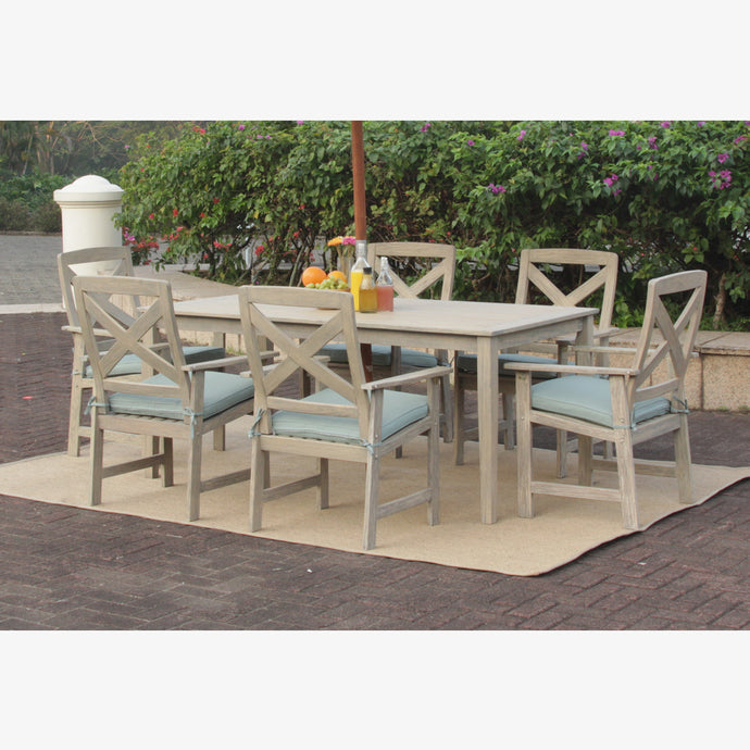 Get to know more Cambridge Casual's range of mahogany furniture, including this beautiful Carlota 7pc Patio Dining Set. Cambridge Casual Patio Furniture