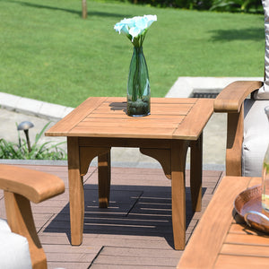 The simple and stylish design of the Caterina side table can help coordinate your outside furniture arrangement. Buy it here today.