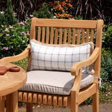 Purchase this gorgeous Mosko solid teak wood outdoor dining chair from Cambridge Casual today to finish your outdoor dining ensemble!