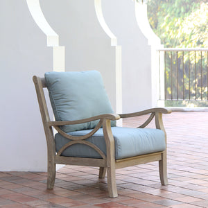 Sneek a peek on this genuine Abbington collection from Cambridge Casual for outdoor and garden furniture! Including this comfy outdoor lounge chair!