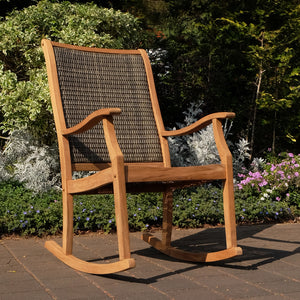 This gorgeous Dunham Solid Teak Wood Outdoor Wicker Rocking Chair is available now at Cambridge Casual patio furniture. Discover more and shop your favorite style here.