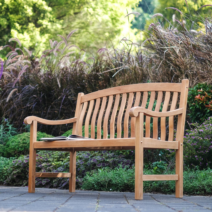 Find out why the beautiful Vermont Solid Teak Wood Outdoor Bench will enhance your patio. Shop the range at Cambridge Casual today.