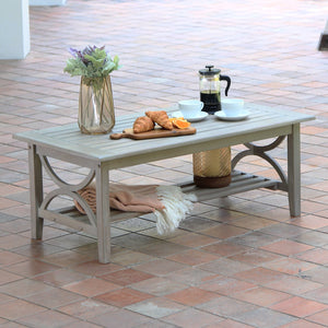 Explore more of our Abbington teak coffee table from Abbington collection by Cambridge Casual! Available today!