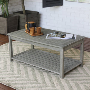 Find out more about this Carlota solid wood coffee table from Carlota collection. Available today from Cambridge Casual patio furniture!