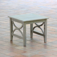 Shop this lovely Abbington Weathered Teak Wood Outdoor Side Table today! Find out more about the Abbington range of teak outdoor furniture, available now from Cambridge Casual!