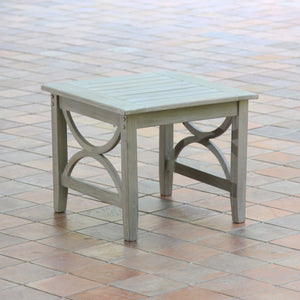 Teak Wood Outdoor Side Table