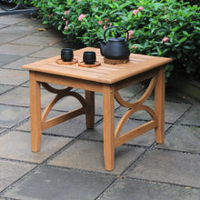 Solid Teak Wood Outdoor Side Table