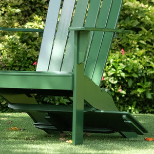 Get to know more about this Moni Solid Wood Hunter Green Adirondack Chair FREE Tray Table from Cambridge Casual and enjoy your tea time and work-from-homes outdoors this season!