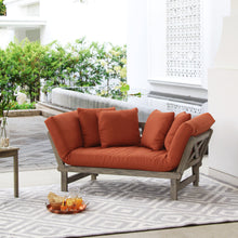 Shop Cambridge Casual for this Carlota Solid Wood Outdoor Convertible Sofa Day Bed. Available in new warm color: Brick. Enjoy the free shipping deal!