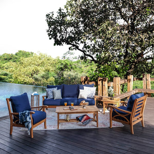 Complete your garden or outdoor space with this beautiful Abbington patio conversation set, available today from Cambridge Casual.