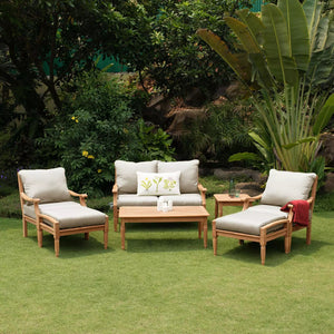 Take a deeper look at this new Livingston Collection, surely a great addition to a big patio space to spend quality time with beloved family!