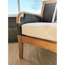 Bring home today our outdoor teak furniture from the Palma range, including this Palma Solid Teak Wood 3 Piece Patio Conversation Set with White Cushion, from the experts at Cambridge Casual!